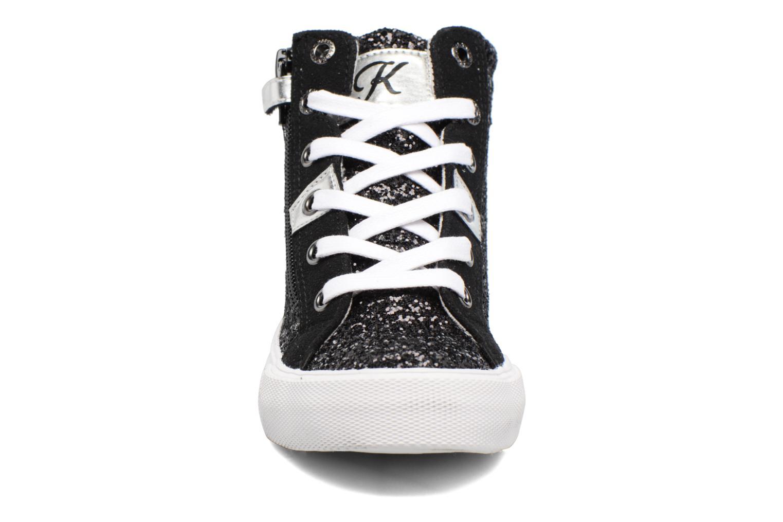 Baskets Kaporal Ambrosio Noir vue portées chaussures