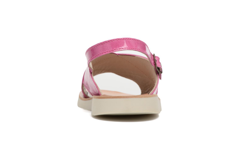 Sandales et nu-pieds PèPè Claudia Rose vue droite