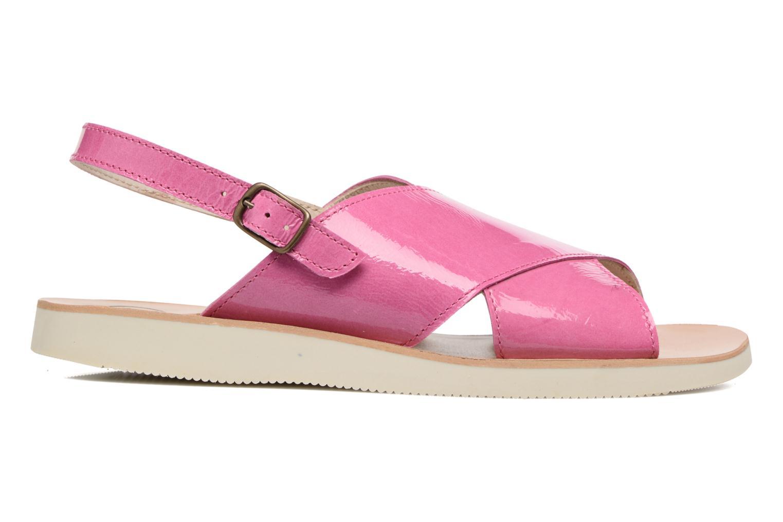 Sandales et nu-pieds PèPè Claudia Rose vue derrière