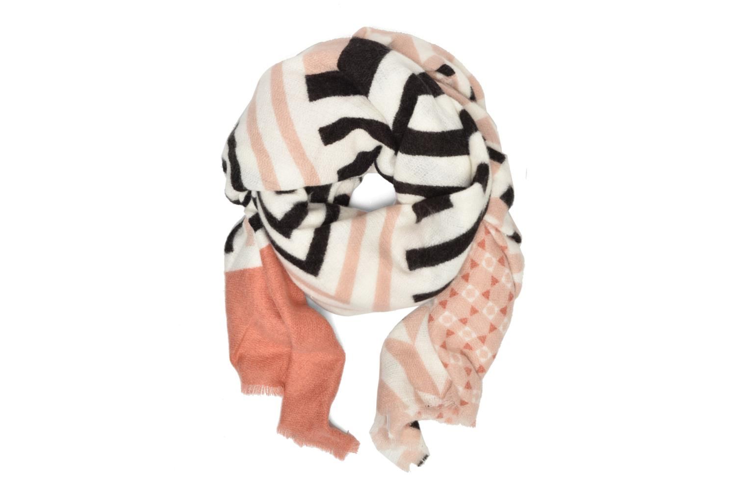 Graphic Print Scarf Nude