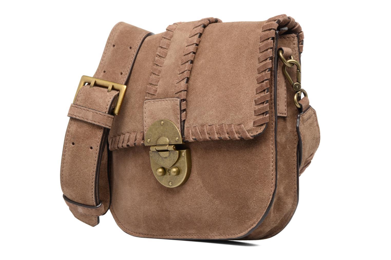 Julie Leather Sadbag Rust Brown