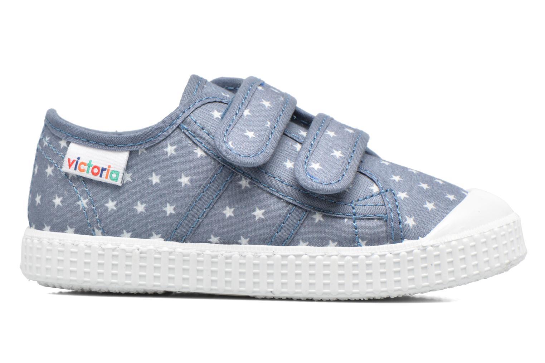 Basket Estrellas Velcros Azul