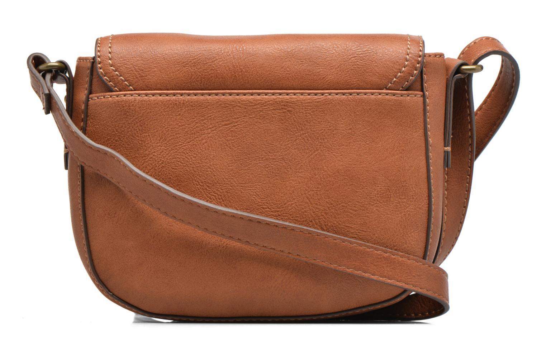 Sacs à main Esprit Pippa Saddle bag Marron vue face