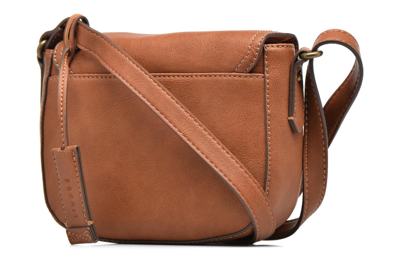 Sacs à main Esprit Pippa Saddle bag Marron vue droite