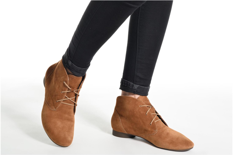 Bottines et boots Think! Guad 80299 Marron vue bas / vue portée sac