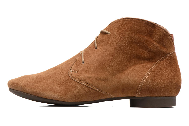 Bottines et boots Think! Guad 80299 Marron vue face