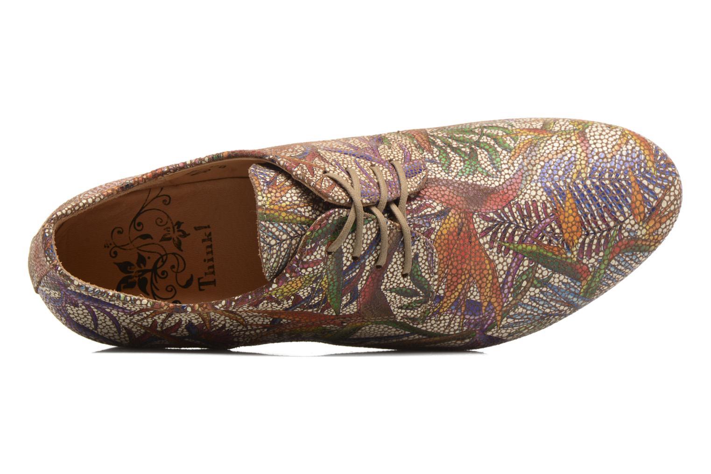 Chaussures à lacets Think! Guad 80270 Multicolore vue gauche