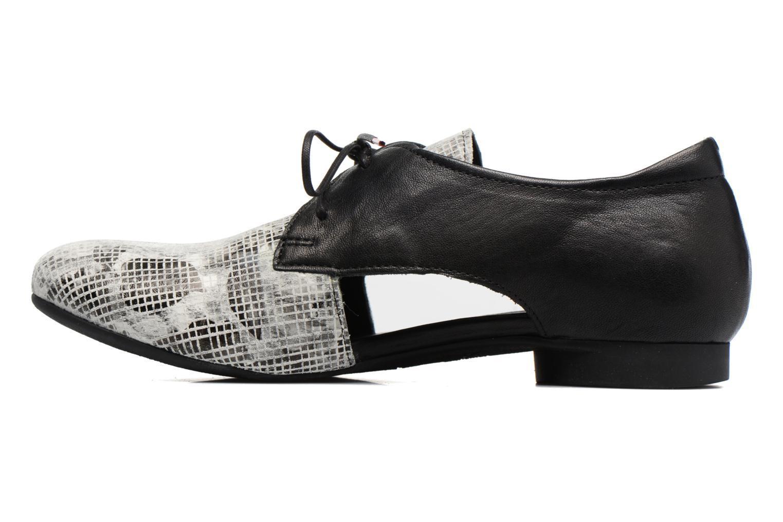 Chaussures à lacets Think! Guad 80287 Gris vue face