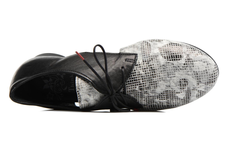 Chaussures à lacets Think! Guad 80287 Gris vue gauche