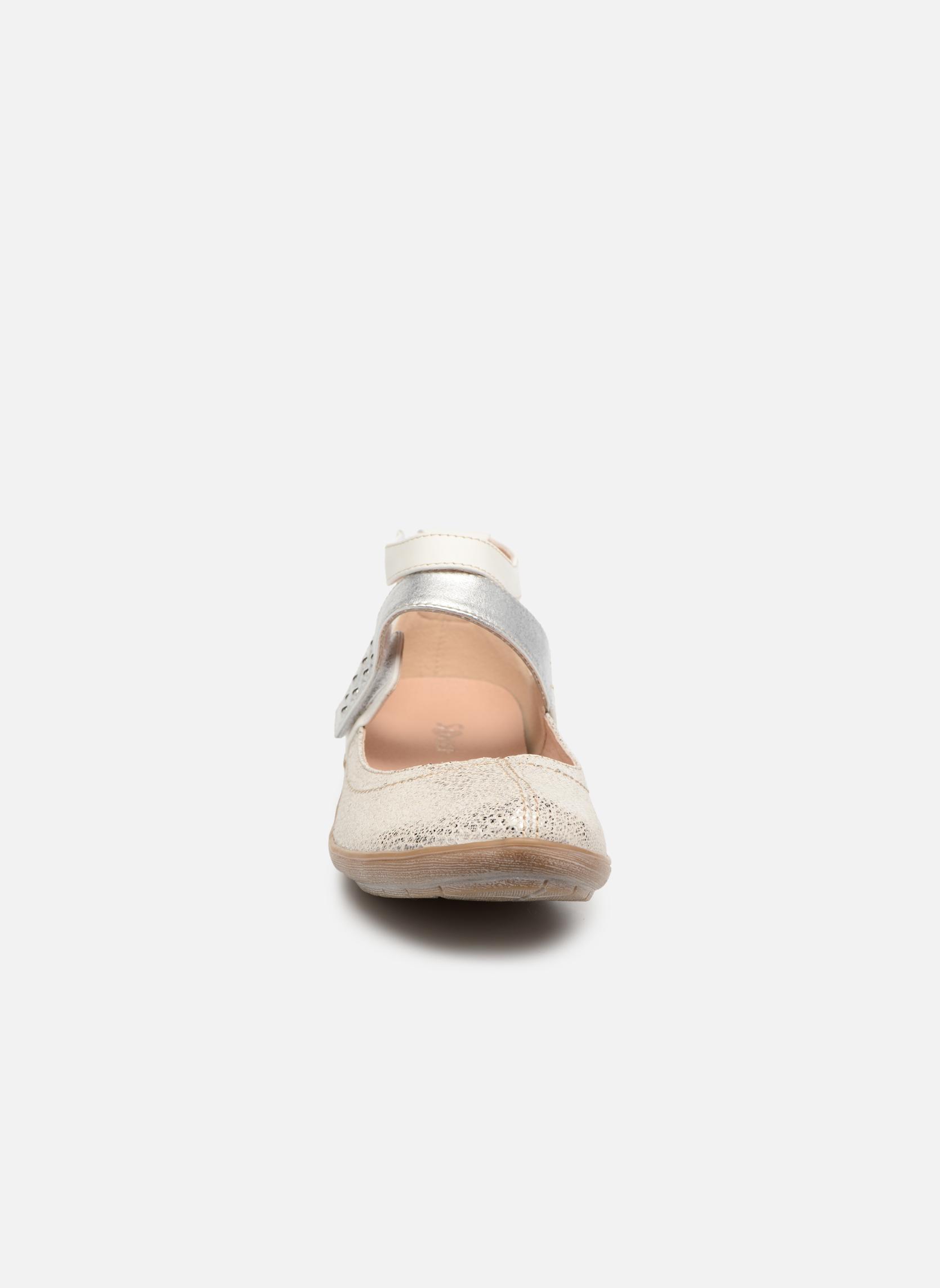 Ballerines Sweet Bidono Blanc vue portées chaussures