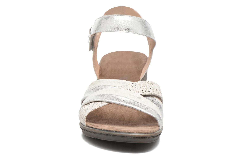 Sandales et nu-pieds Sweet Zalan Blanc vue portées chaussures