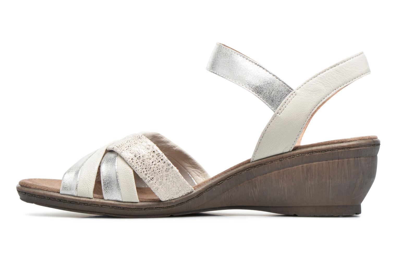 Sandales et nu-pieds Sweet Zalan Blanc vue face