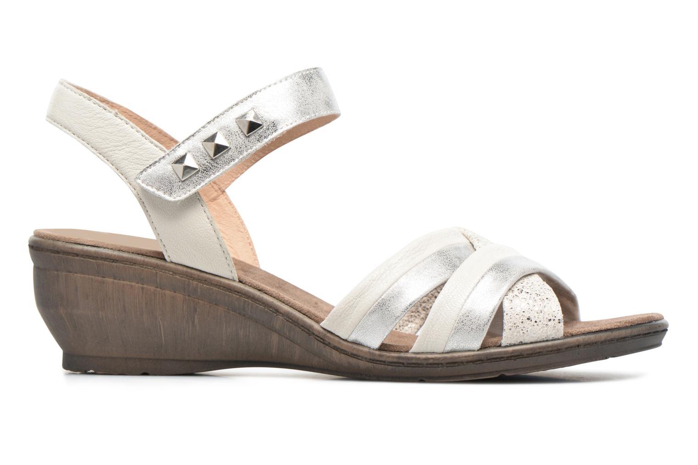 Sandales et nu-pieds Sweet Zalan Blanc vue derrière