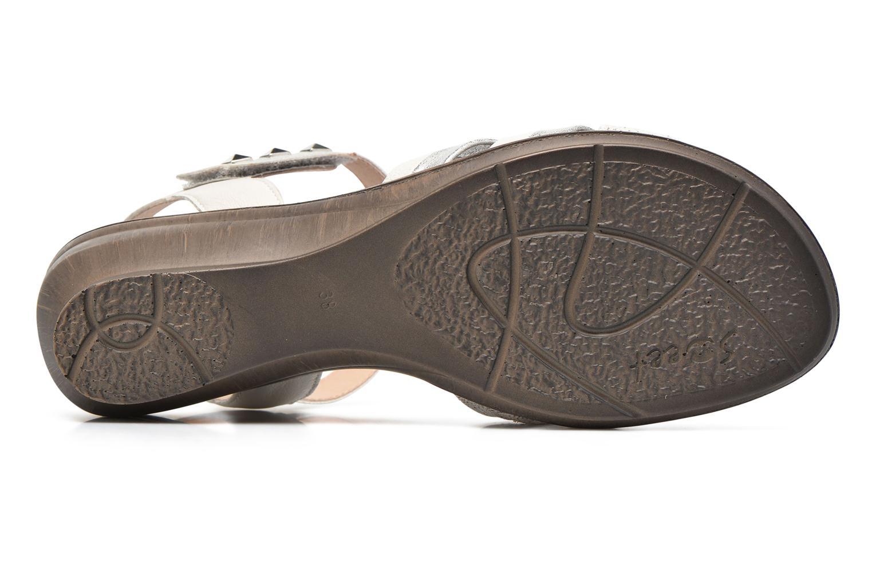 Sandales et nu-pieds Sweet Zalan Blanc vue haut