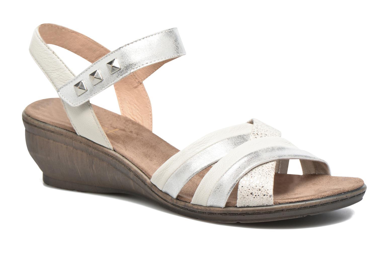 Sandales et nu-pieds Sweet Zalan Blanc vue détail/paire