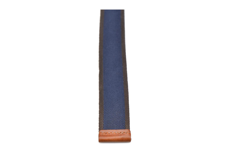 Ceintures Esprit Webbing belt Bleu vue face