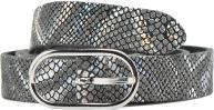 Bælter Accessories Met leather animal belt