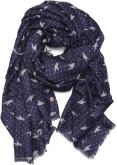 Print stripes scarf 100x200
