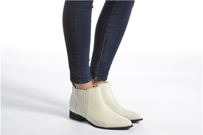 Bottines et boots Shoe the bear Minho Blanc vue bas / vue portée sac
