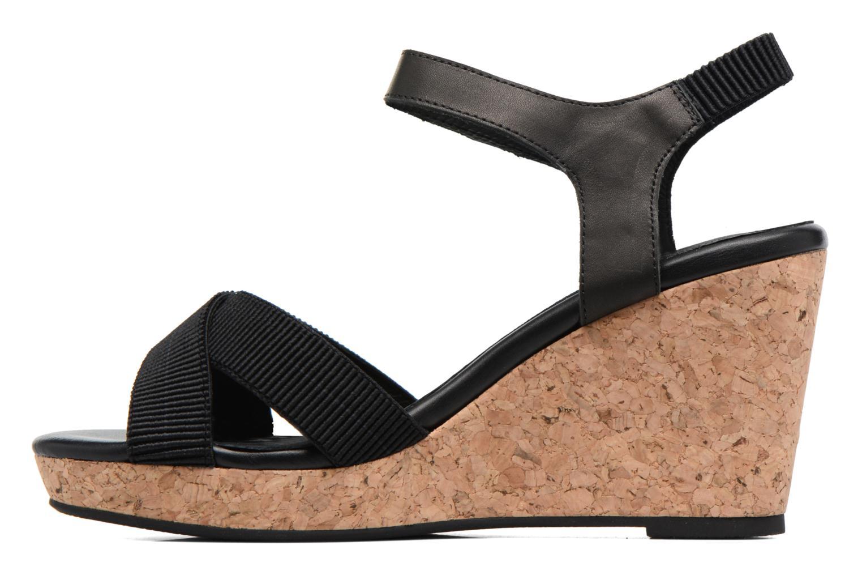 Sandales et nu-pieds Shoe the bear Alec Noir vue face