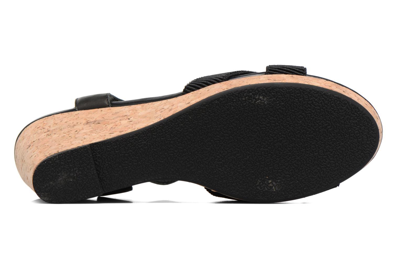 Sandales et nu-pieds Shoe the bear Alec Noir vue haut