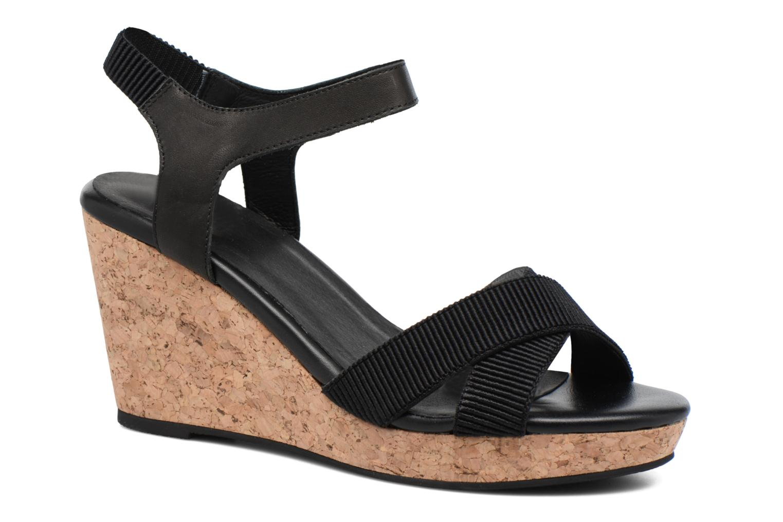 Sandales et nu-pieds Shoe the bear Alec Noir vue détail/paire