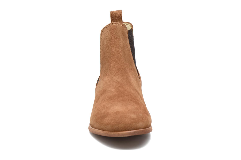 Bottines et boots Shoe the bear Chelsea M Marron vue portées chaussures