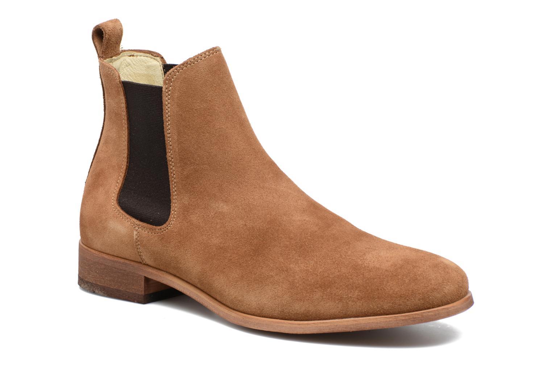 Bottines et boots Shoe the bear Chelsea M Marron vue détail/paire