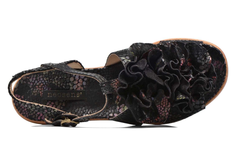 Aurora S943 Floral Black