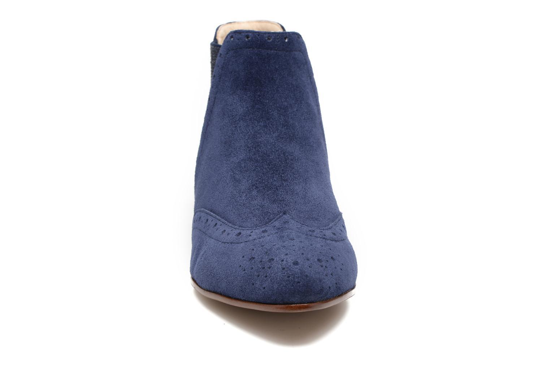Bottines et boots JB MARTIN Jelica Bleu vue portées chaussures