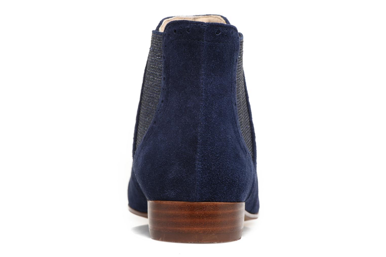 Bottines et boots JB MARTIN Jelica Bleu vue droite