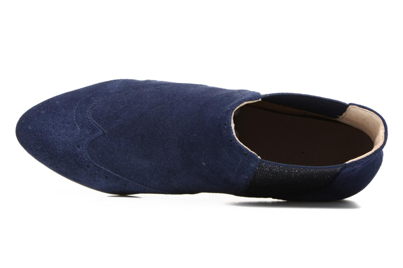 Bottines et boots JB MARTIN Jelica Bleu vue gauche