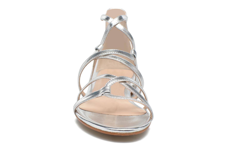 Sandales et nu-pieds JB MARTIN 1Anora Argent vue portées chaussures