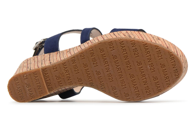 Sandali e scarpe aperte JB MARTIN Dayane Azzurro immagine dall'alto