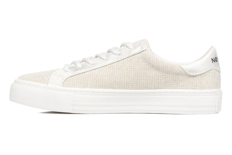 Baskets No Name Arcade Sneaker Palerme Blanc vue face