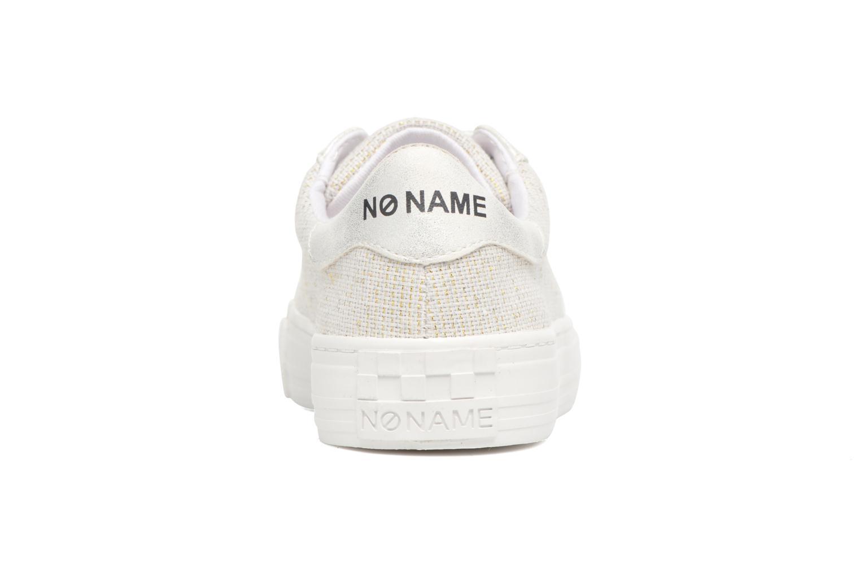 Baskets No Name Arcade Sneaker Palerme Blanc vue droite