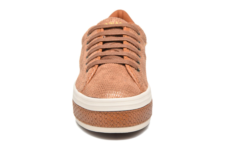 Baskets No Name Malibu Sneaker Marron vue portées chaussures