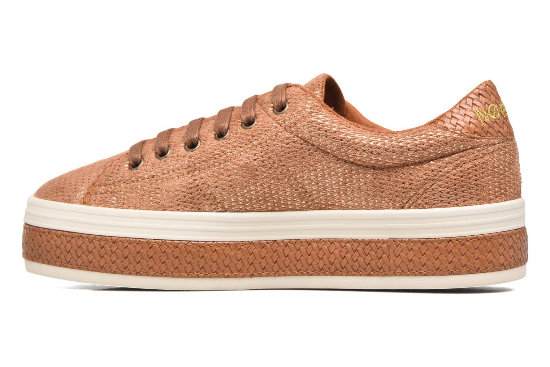 Baskets No Name Malibu Sneaker Marron vue face
