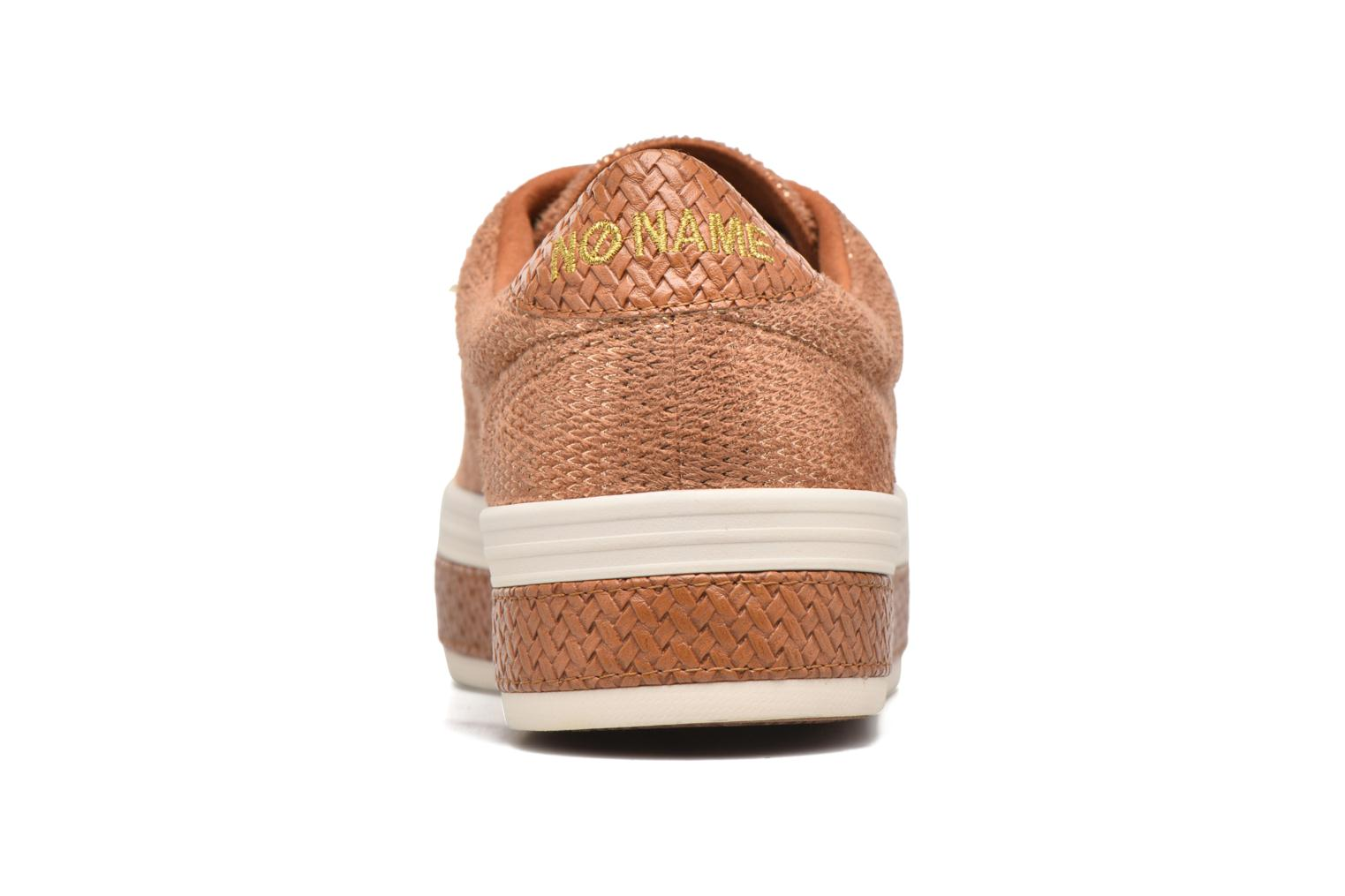 Baskets No Name Malibu Sneaker Marron vue droite