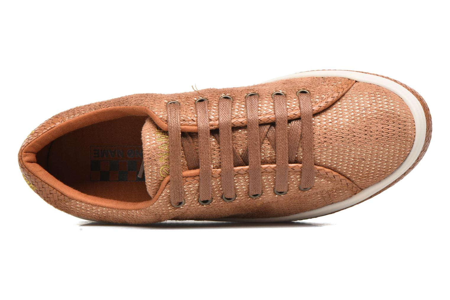 Baskets No Name Malibu Sneaker Marron vue gauche
