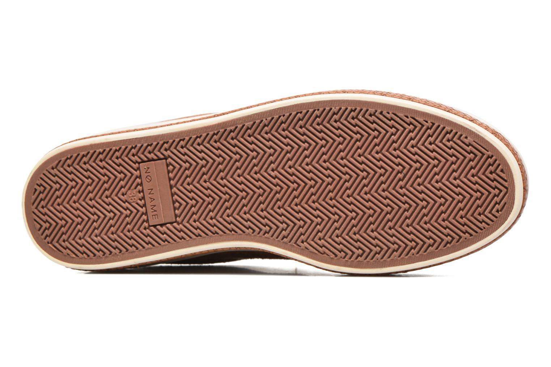 Baskets No Name Malibu Sneaker Marron vue haut
