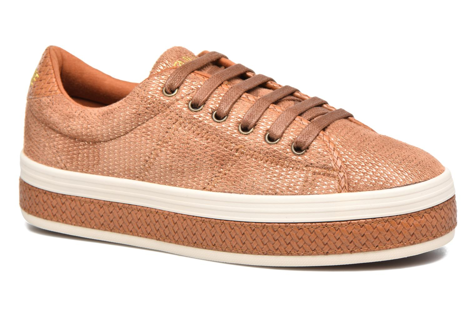 Baskets No Name Malibu Sneaker Marron vue détail/paire