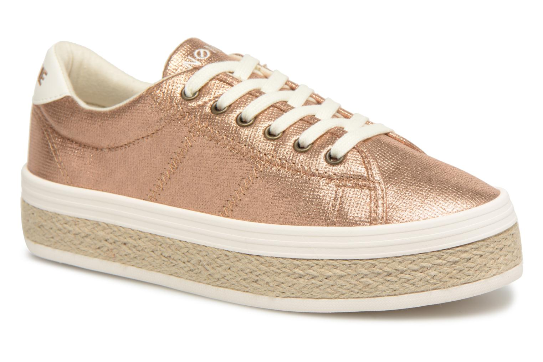 No Name Malibu Sneaker (Or et bronze) - Baskets chez Sarenza (315374)