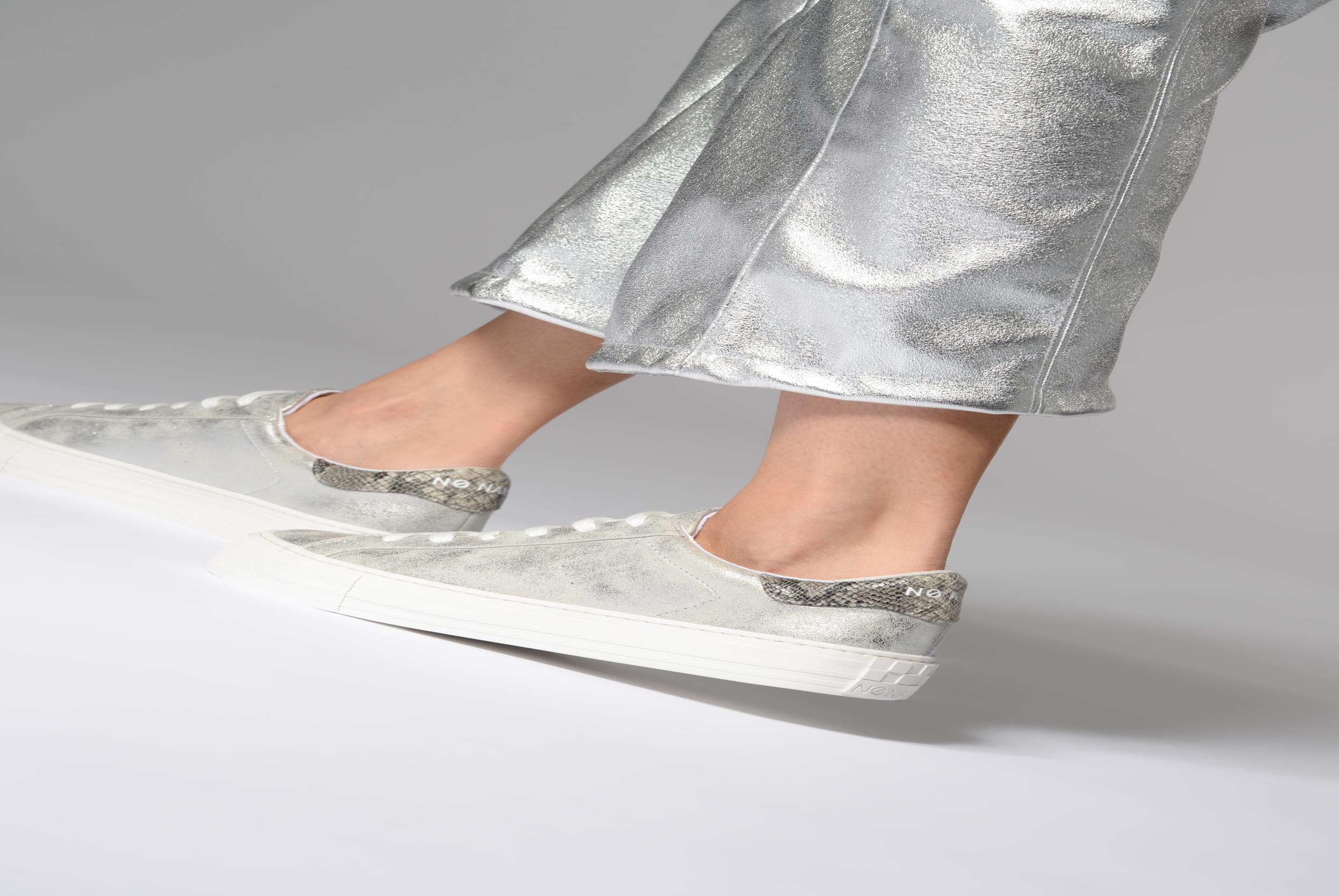 Arcade Sneaker Glow Acier Fox White