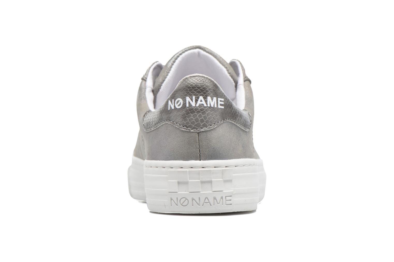 Baskets No Name Arcade Sneaker Glow Argent vue droite