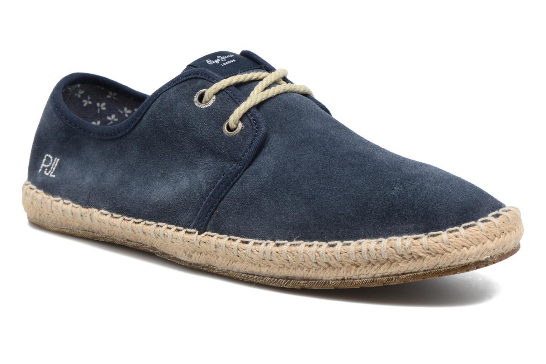 Chaussures à lacets Pepe Jeans bleues Casual homme eZJWt
