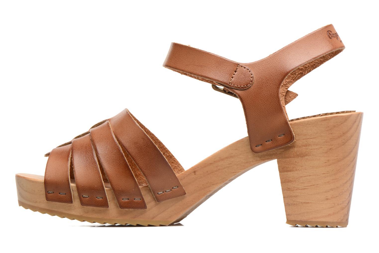 Sandales et nu-pieds Pepe jeans Oly Marron vue face
