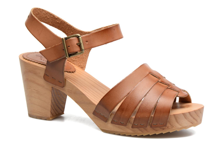 Sandales et nu-pieds Pepe jeans Oly Marron vue détail/paire