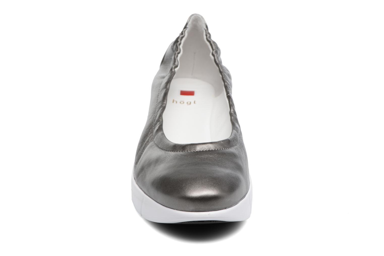 Ballerines HÖGL Halina Gris vue portées chaussures