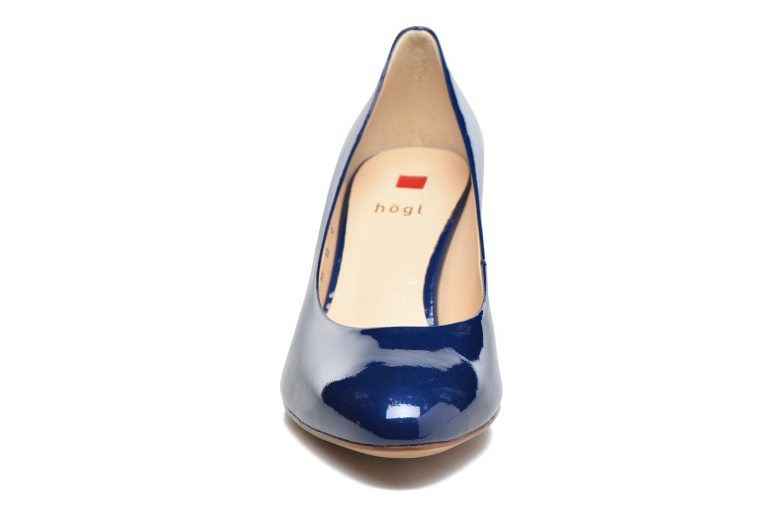 Escarpins HÖGL Tela Bleu vue portées chaussures